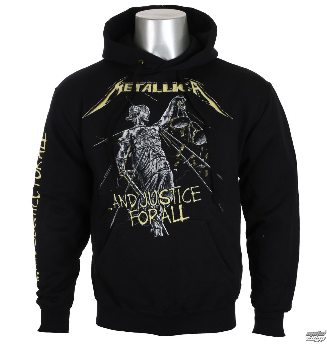 Herren Hoodie Metallica - And Justice For All Tracks -