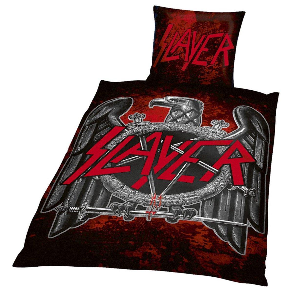 Bettwäsche Slayer Eagle Blsl01 Metalshopde