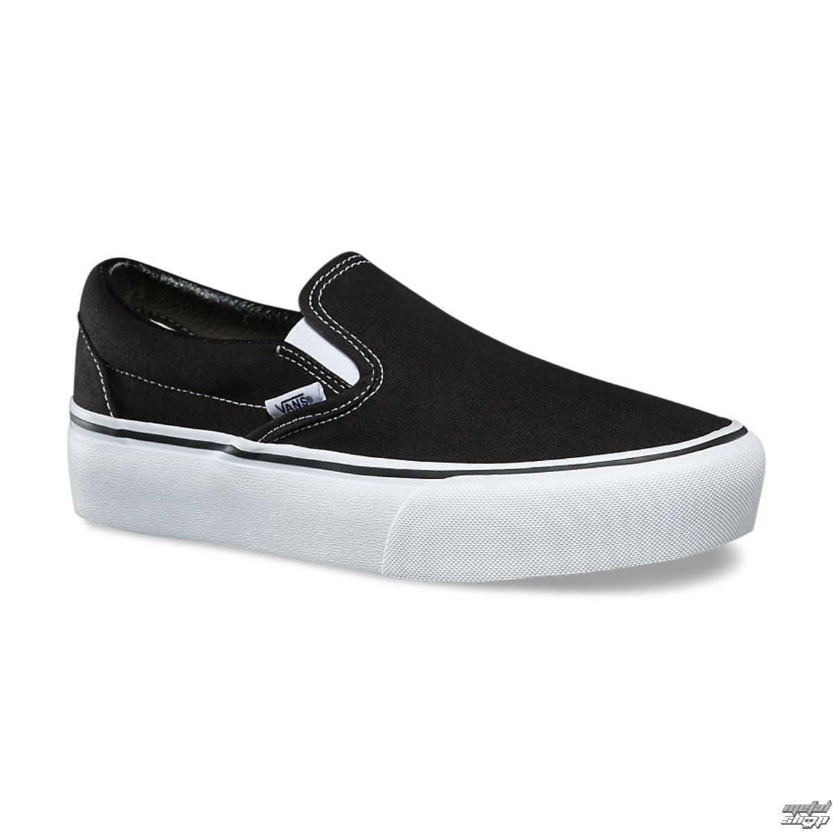 Damen Low Sneaker VANS - UA CLASSIC SLIP-ON PLATFORM Black