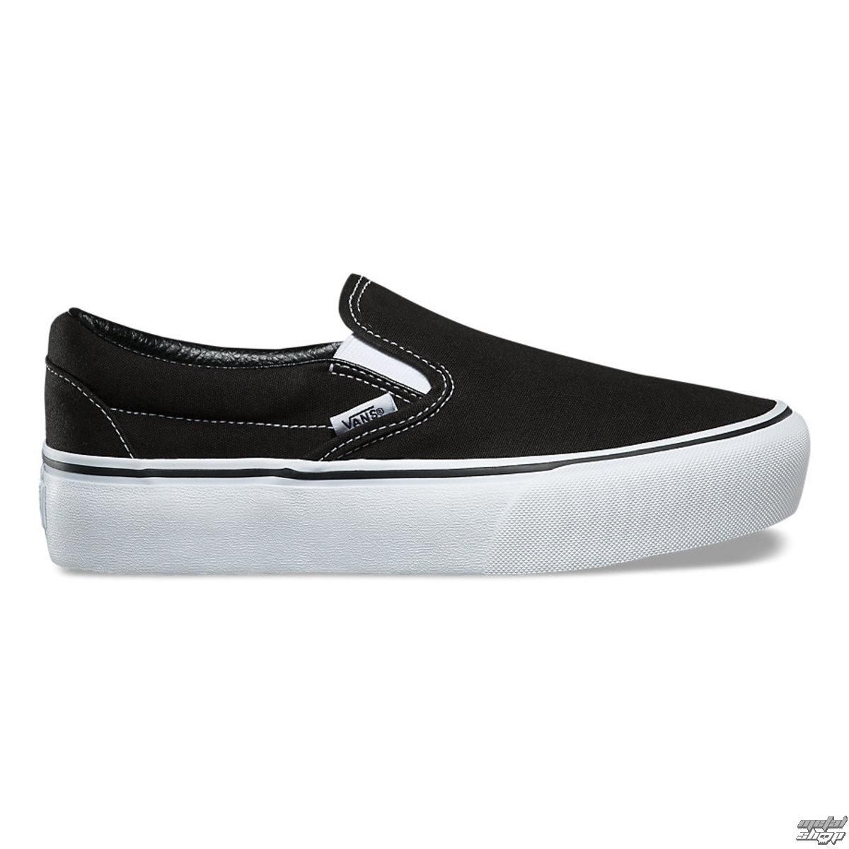 Damen Low Sneaker VANS UA CLASSIC SLIP ON PLATFORM Black