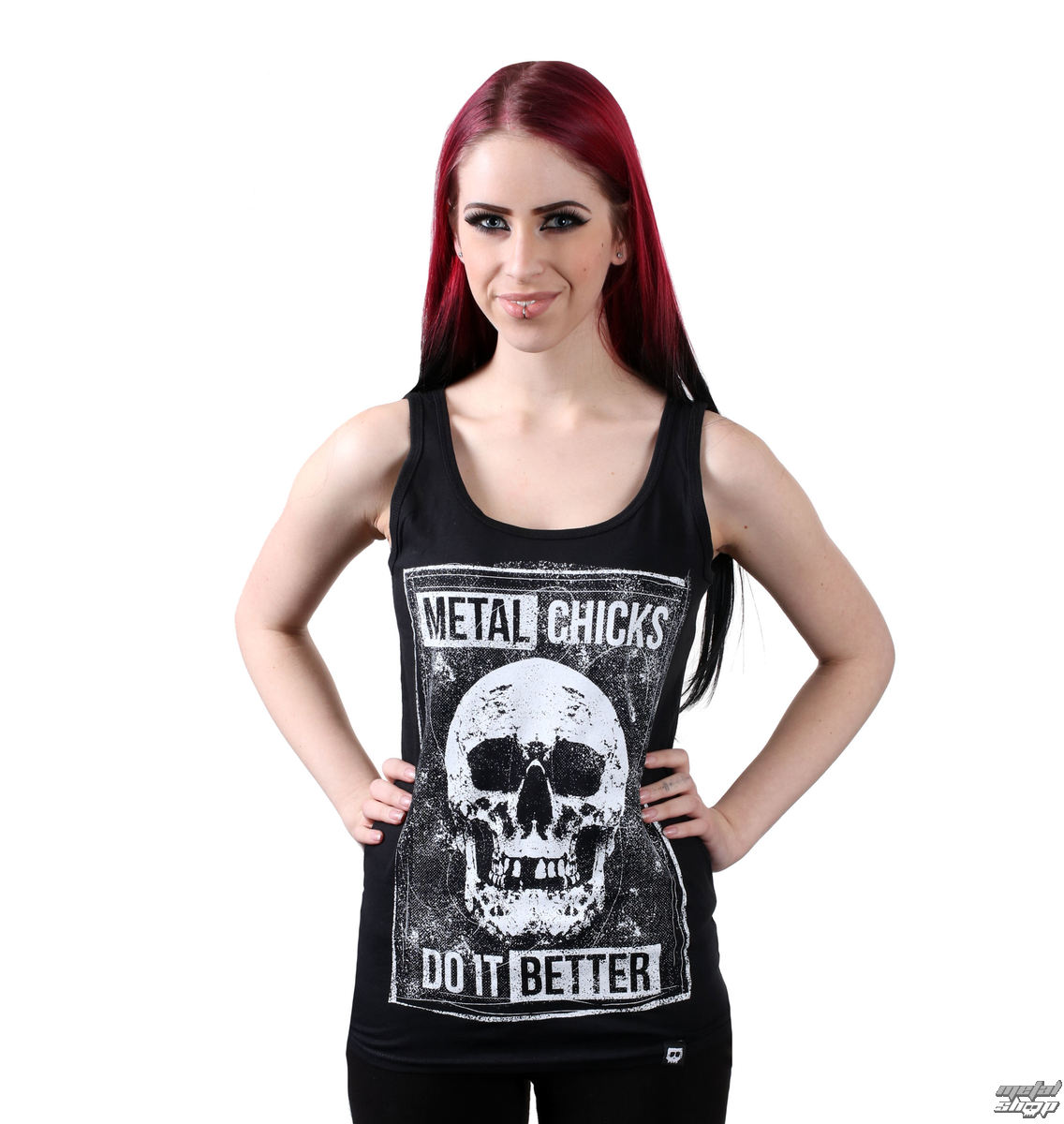 Damen Tanktop METAL CHICKS DO IT BETTER