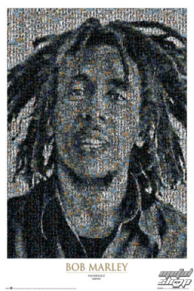 Posters Bob Marley - Mosaic II - GB Posters