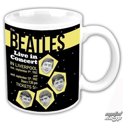 Keramiktasse The Beatles - Live In Concert - ROCK OFF