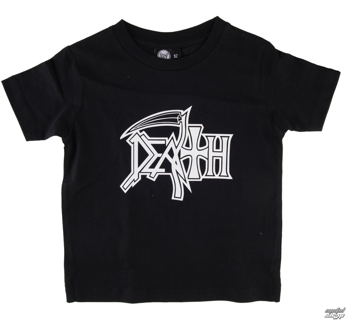 Kinder T-Shirt Death - Logo - Black - Metal-Kids