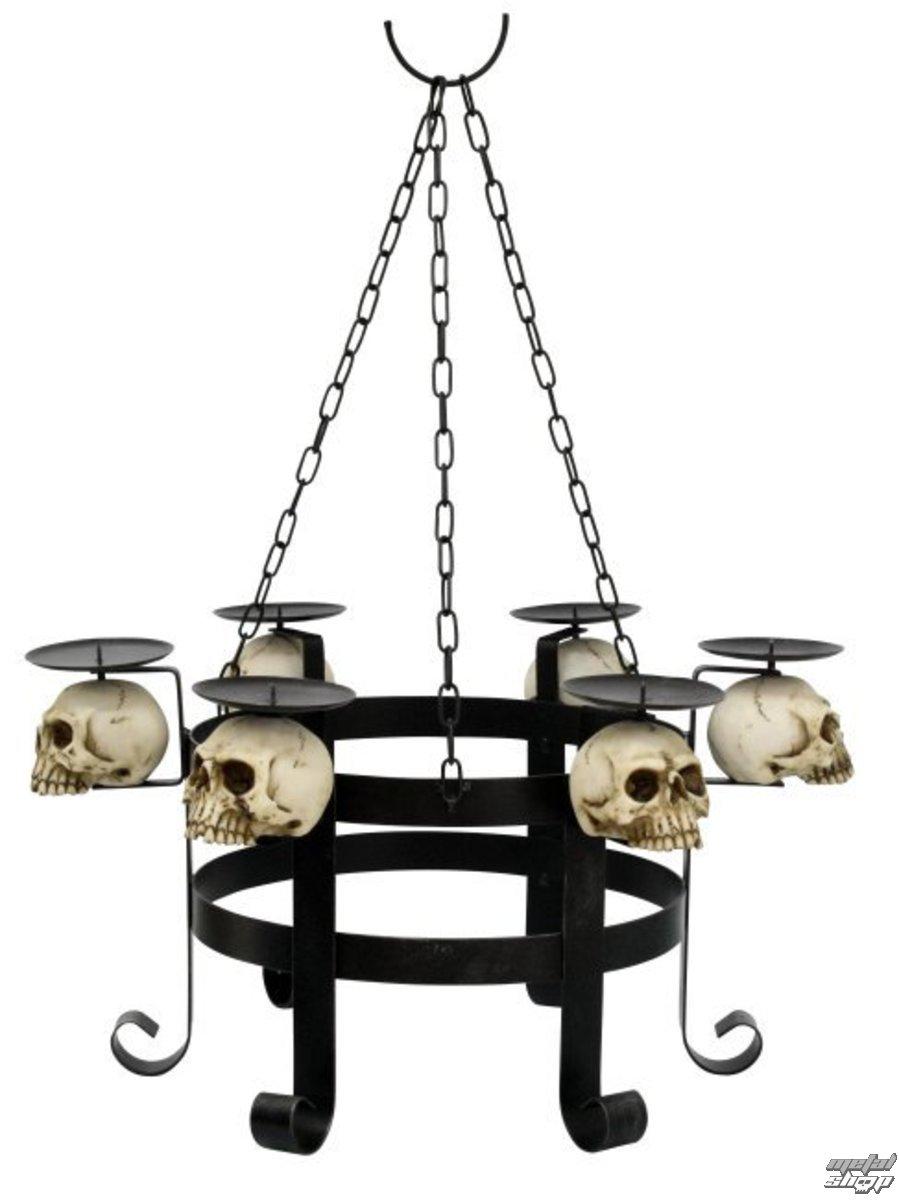 kronleuchter Kerzen Skull - 766-6970 - Metalshop.de