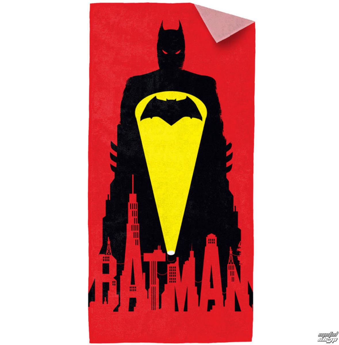 Handtuch (Badetuch) Batman in Superman - Red