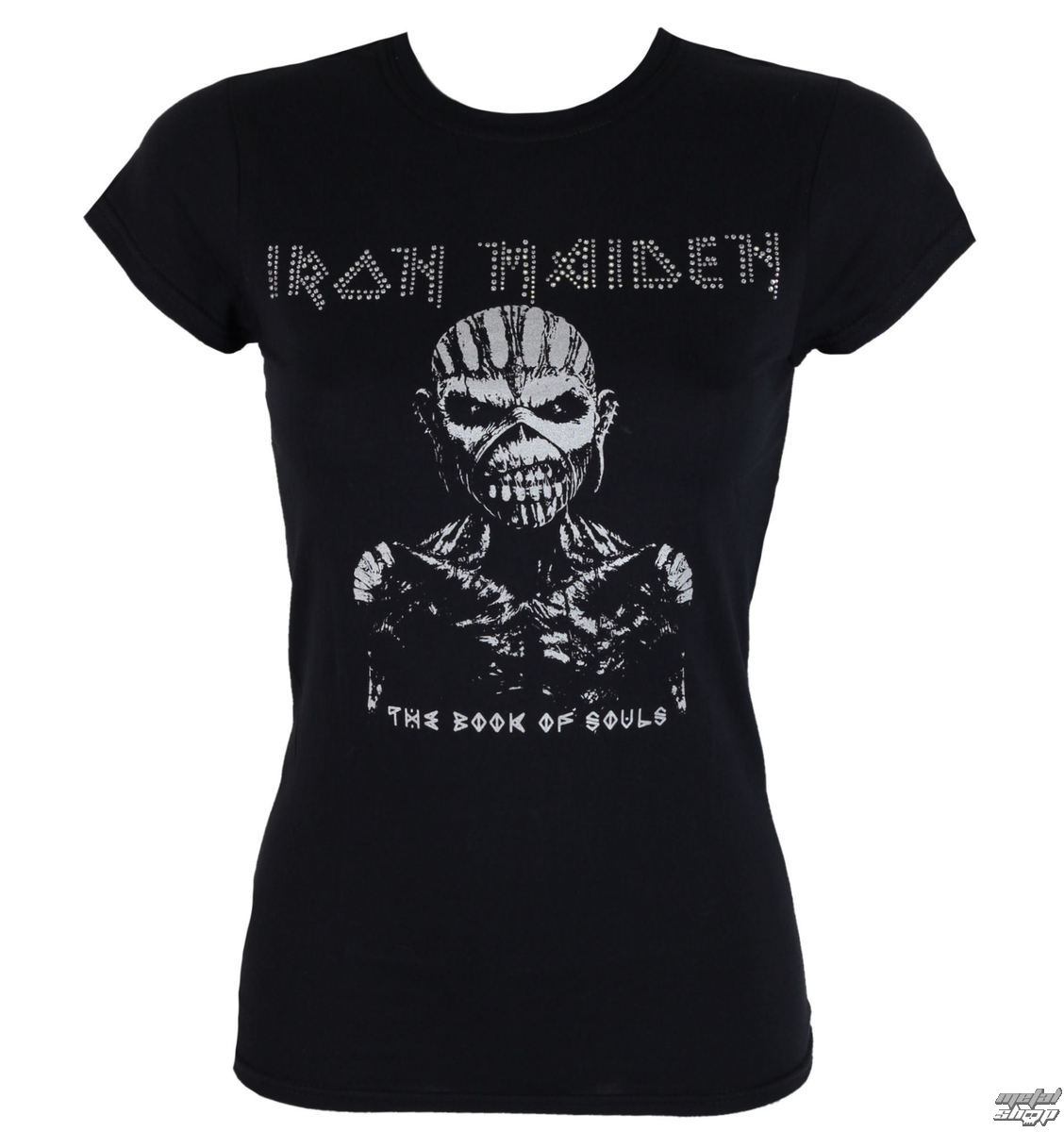 Damen Metal T-Shirt Iron Maiden - The Book Of Souls - ROCK OFF
