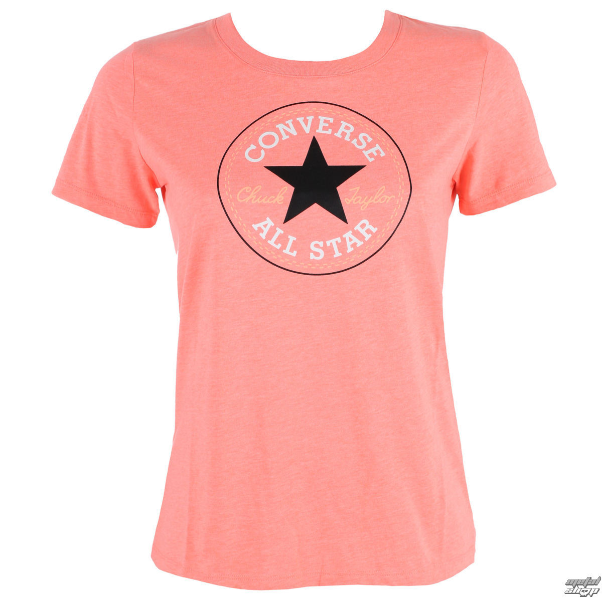 Damen Street T-Shirt - CORE SOLID CHUCK PATCH - CONVERSE