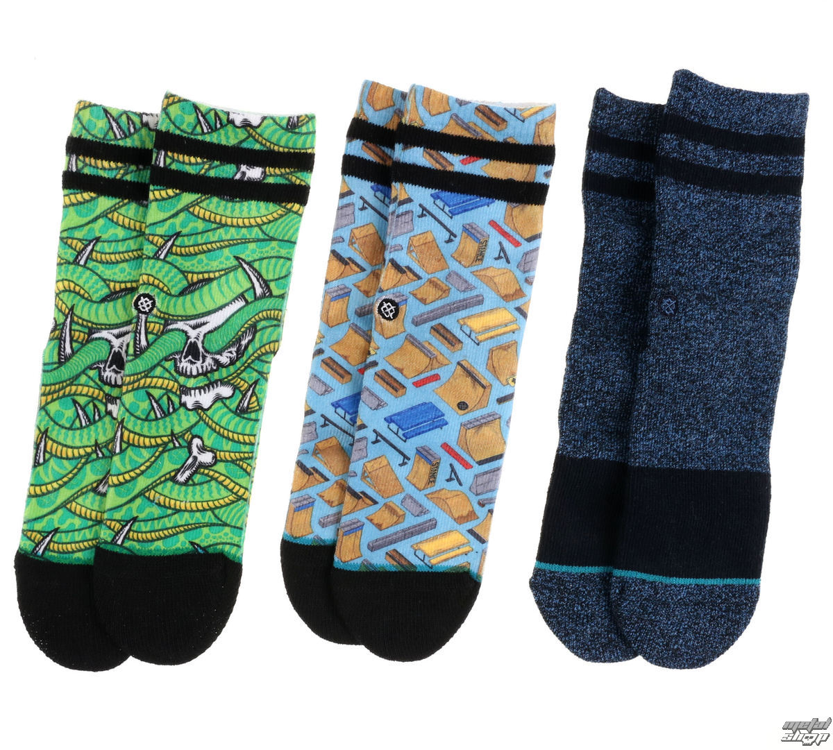 Kinder Socken 3er Pack Thrasher - MULTI