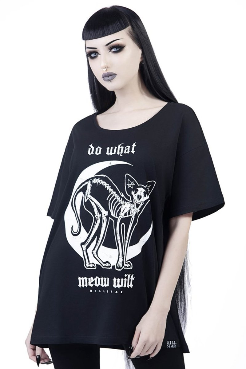 Damen T-Shirt - C'mon Meow - KILLSTAR
