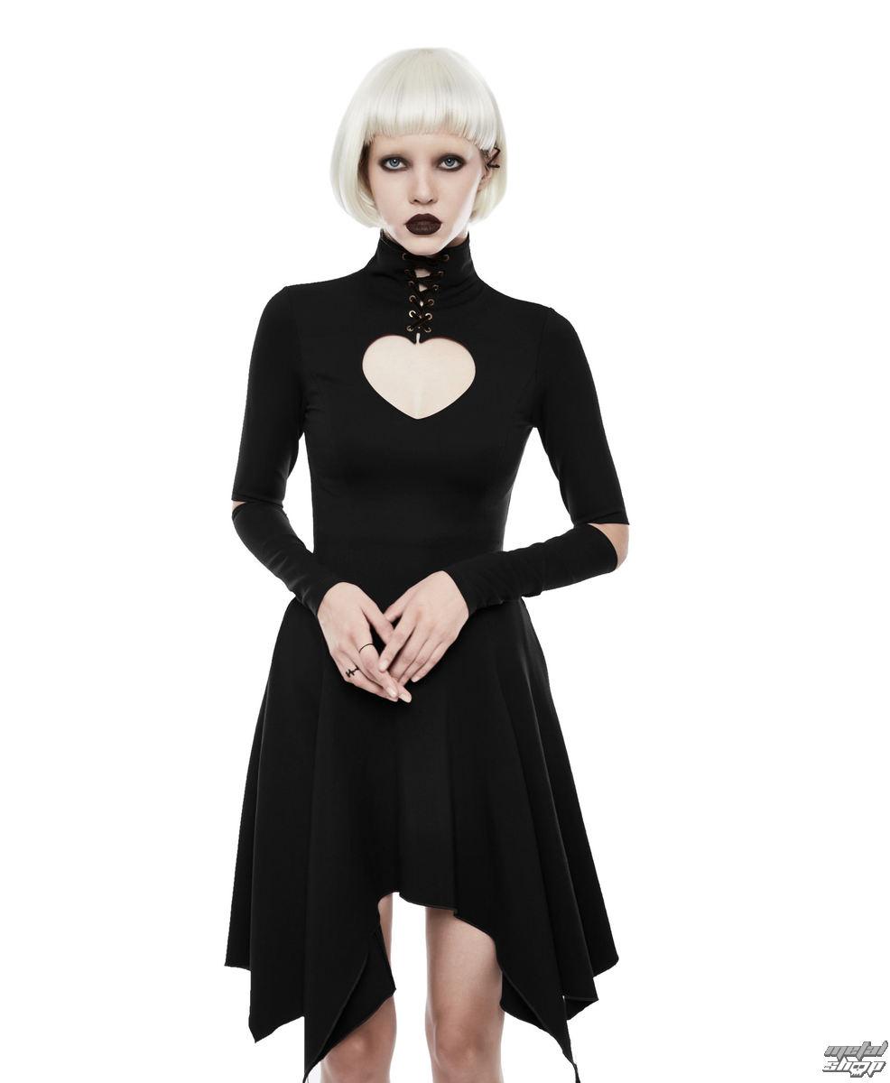 Damen Kleid PUNK RAVE - Dead Romance - OPQ-238/BK - metalshop.de