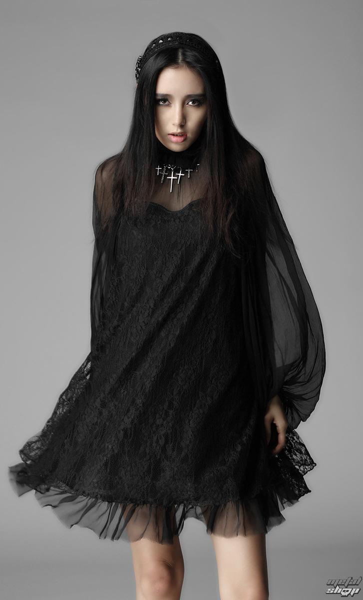 Damen Kleid PUNK RAVE - Black Cloud - PY-017 - metalshop.de