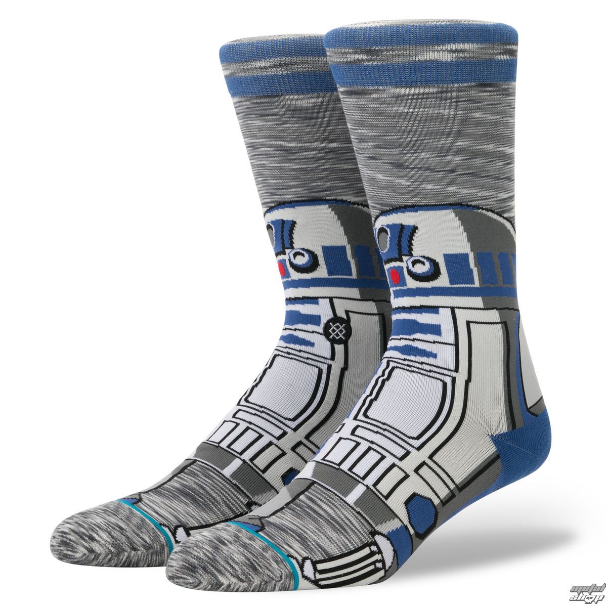 Socken STAR WARS - R2 UNIT - GRAU - STANCE