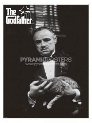 Posters - The Godfather (Cat B&W) - PP30526