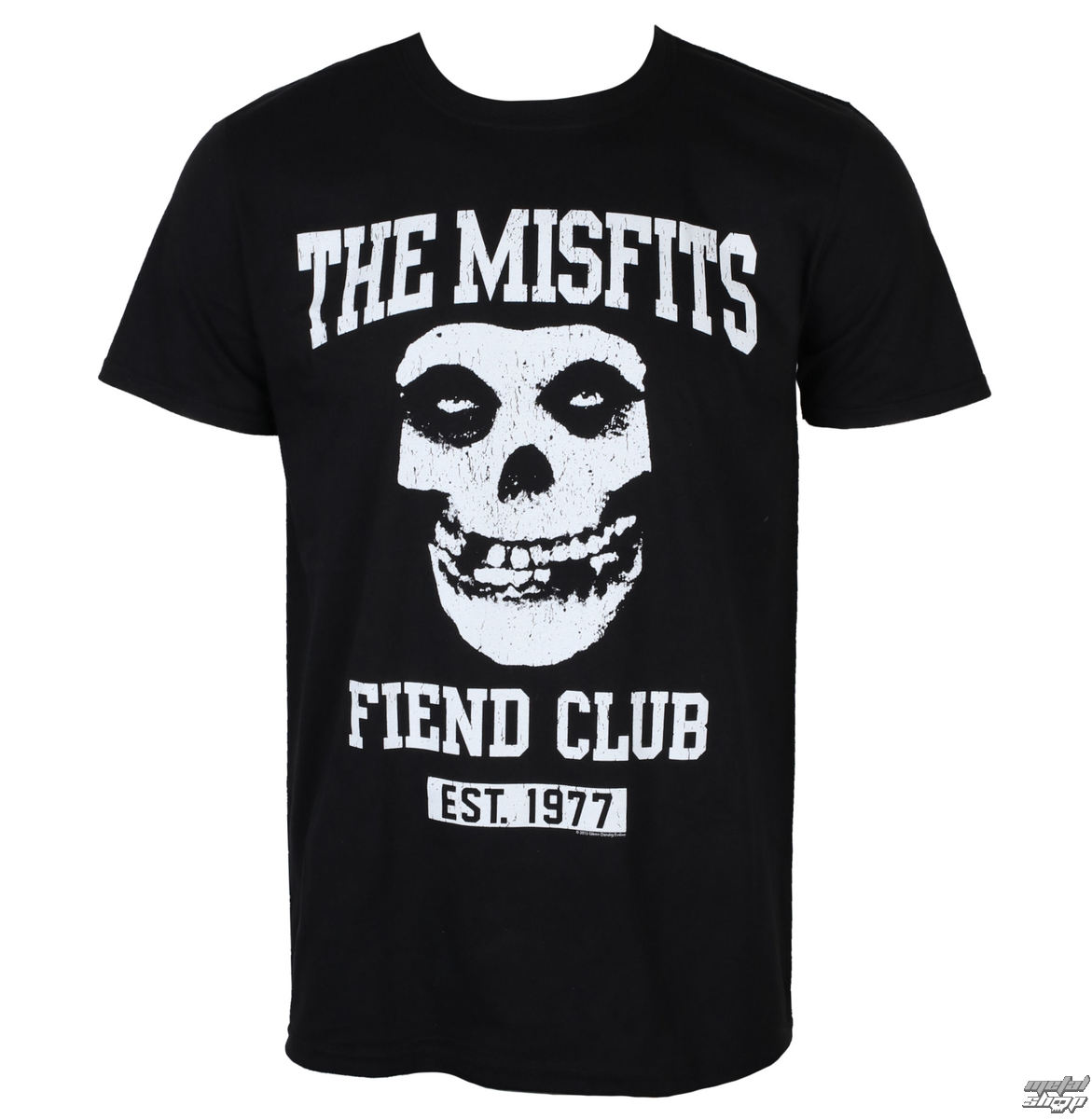 Herren T-Shirt Metal Misfits - FIEND CLUB - PLASTIC HEAD