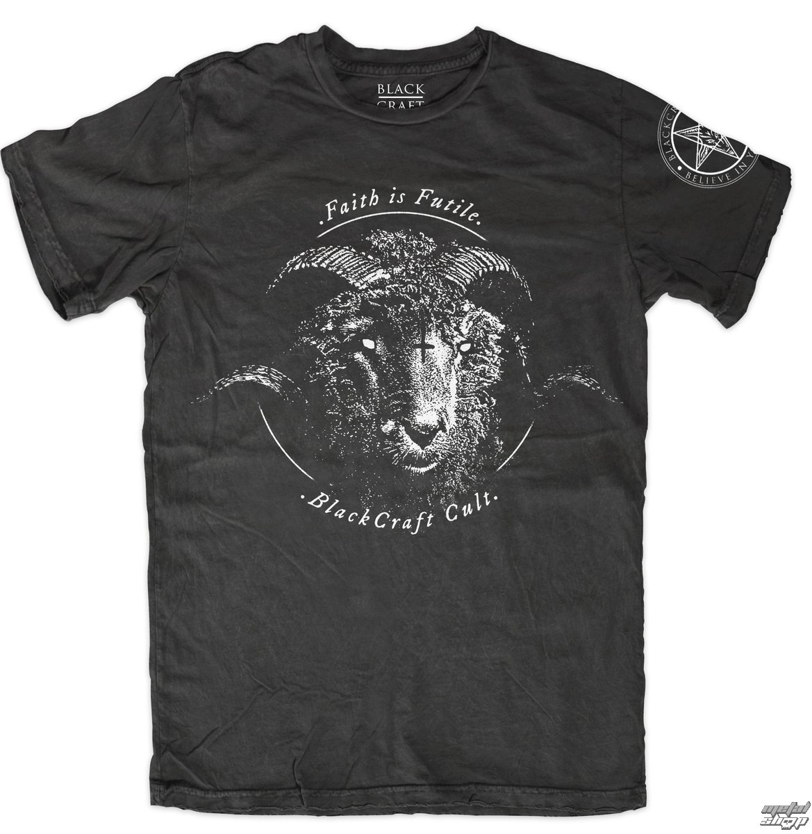 Herren T-Shirt - Faith Is Futile - BLACK CRAFT