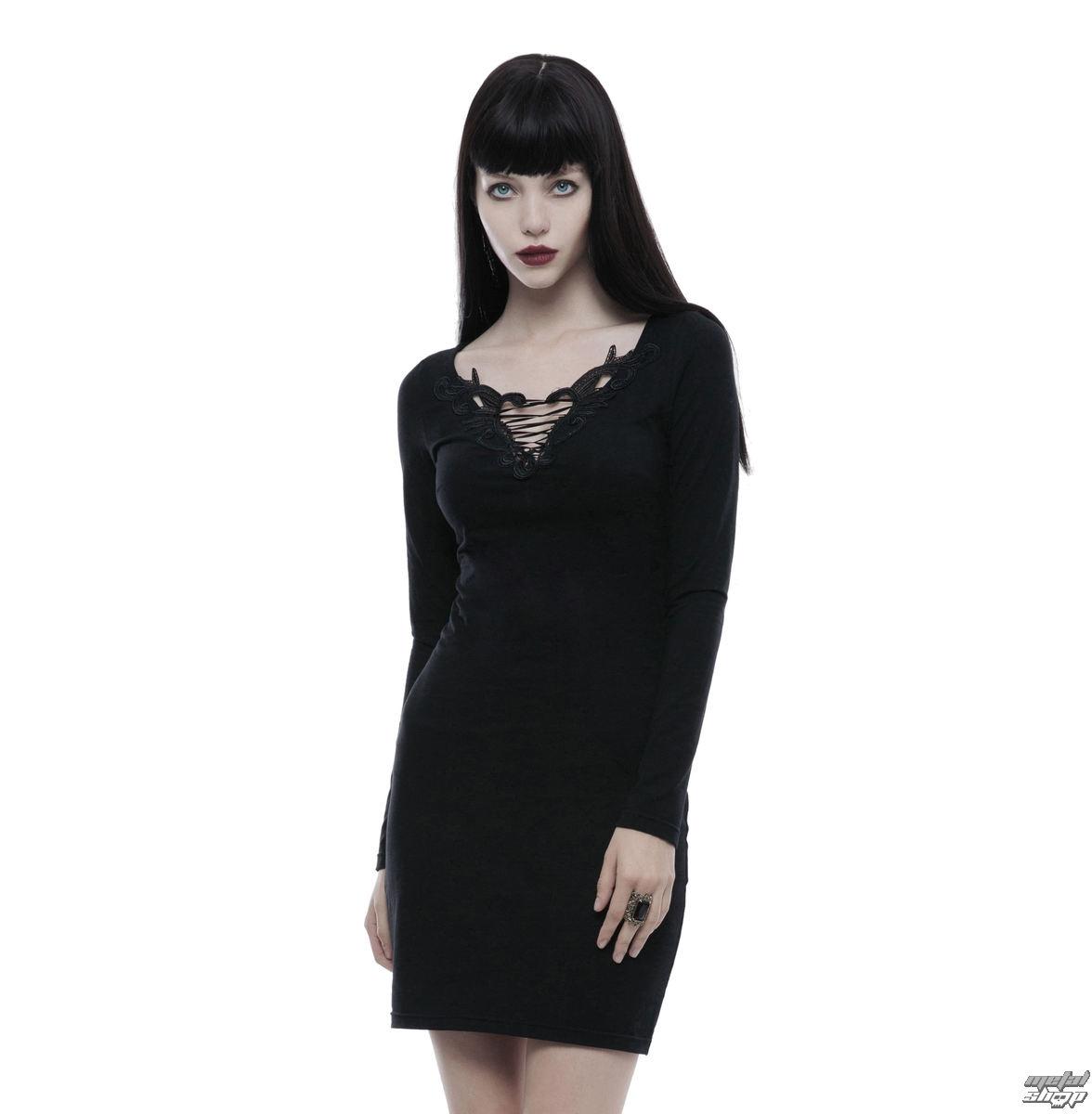 Damen Kleid PUNK RAVE - Serena - WQ-343/BK - metalshop.de