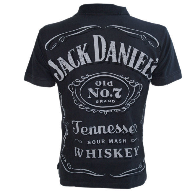 herren t shirt jack daniels classic logo vintage po249504. Black Bedroom Furniture Sets. Home Design Ideas
