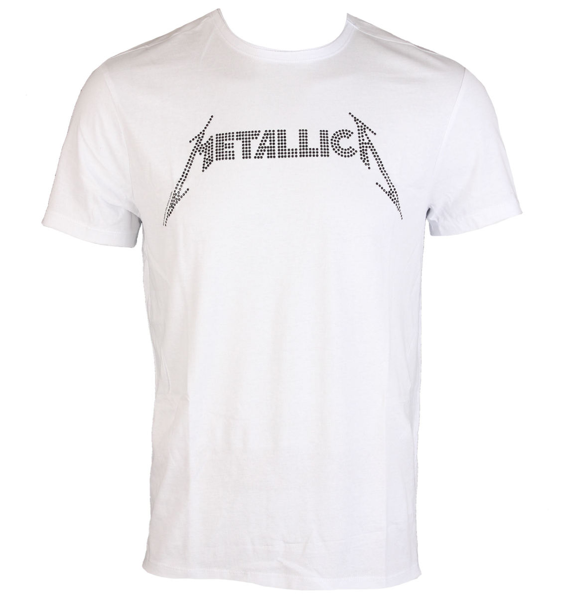 herren t shirt metallica black logo diamante amplified. Black Bedroom Furniture Sets. Home Design Ideas