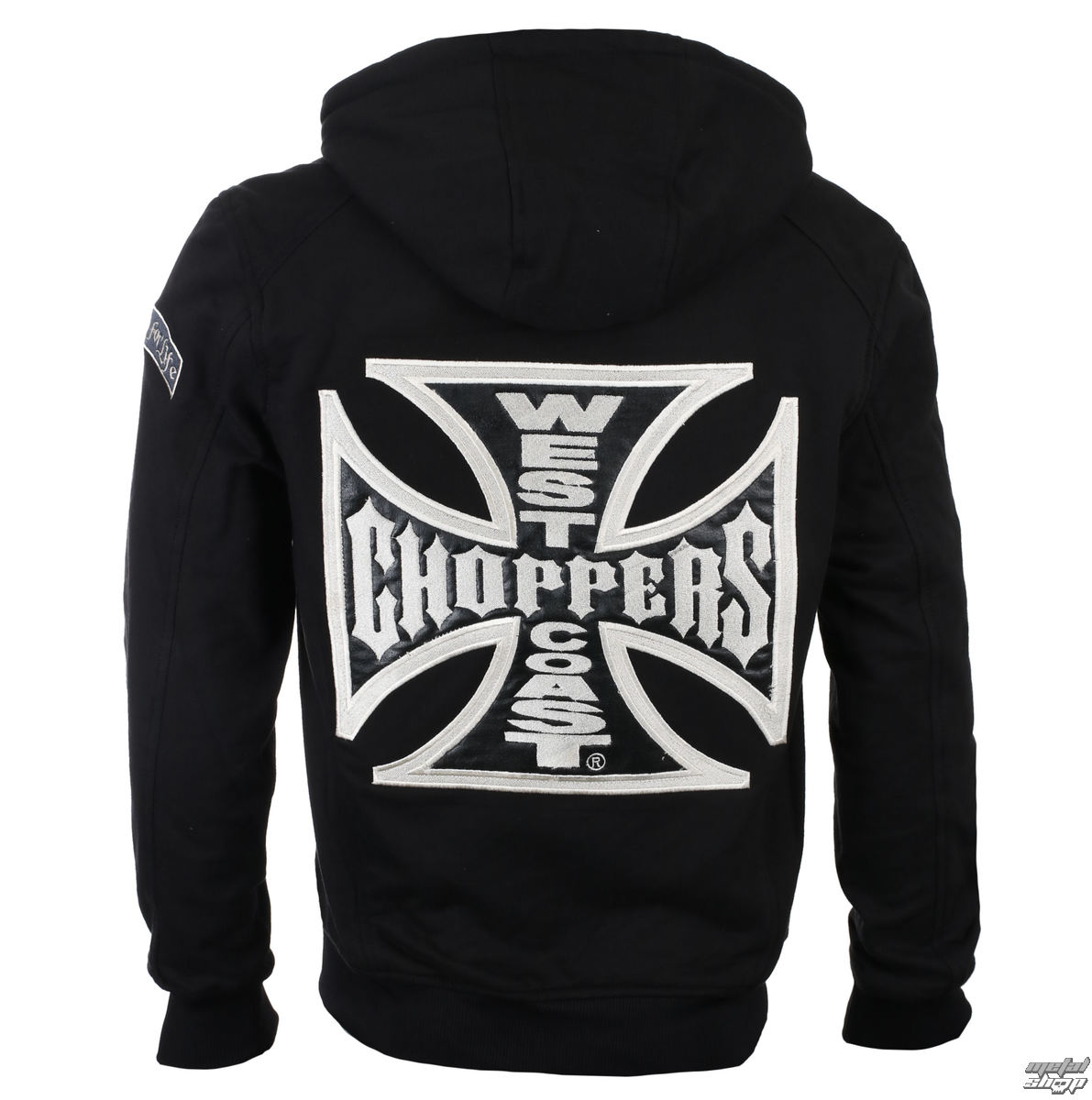 Herren Kapuzenpullover - CROSS PANEL - West Coast Choppers
