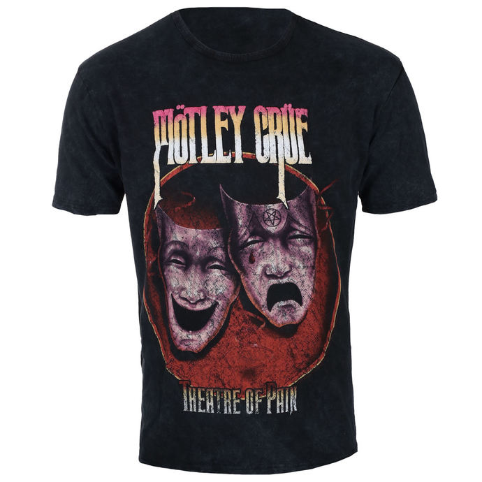 Herren T-Shirt Metal Mötley Crüe - Theatre of Pain - ROCK OFF