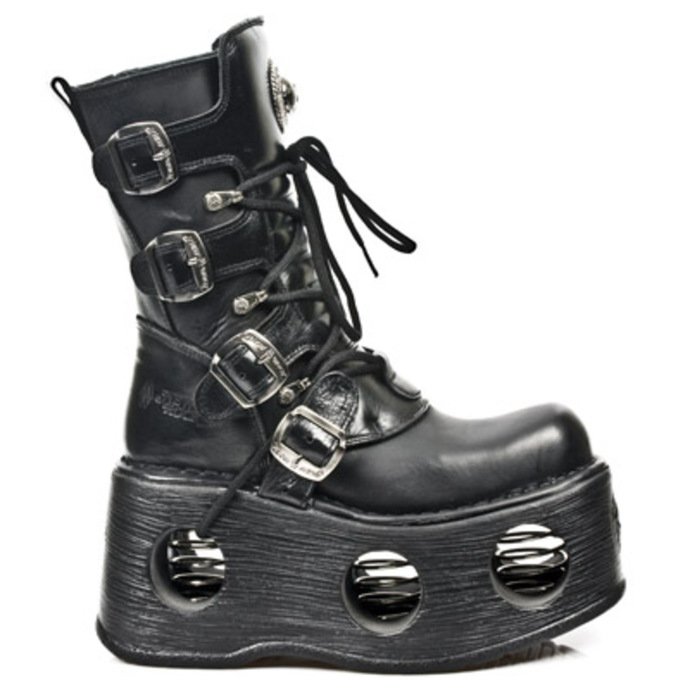 Schuhe NEW ROCK - 373 ITALI NOMADA NEGRO NEW SPACE