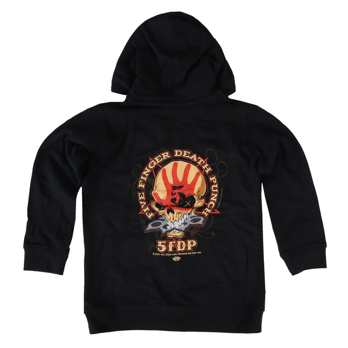 Kapuzenpullover für Kinder Five Finger Death Punch - Knucklehead