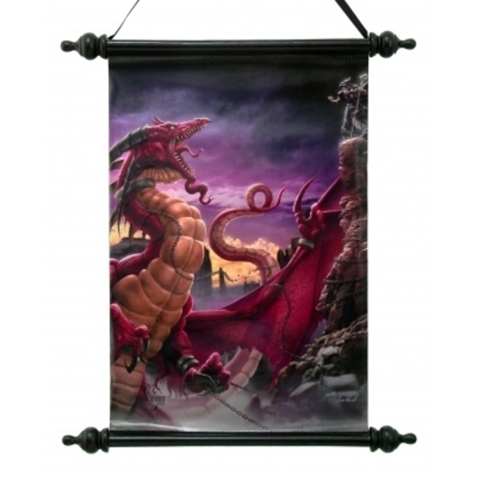 Scroll Art Scroll  - Unleash The Dragon
