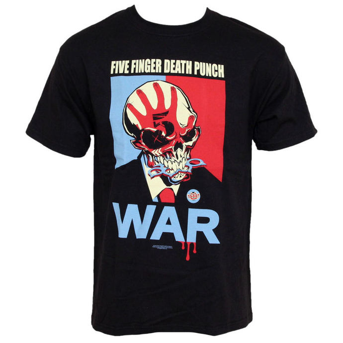 Herren T-Shirt Five Finger Death Punch - War - BRAVADO USA