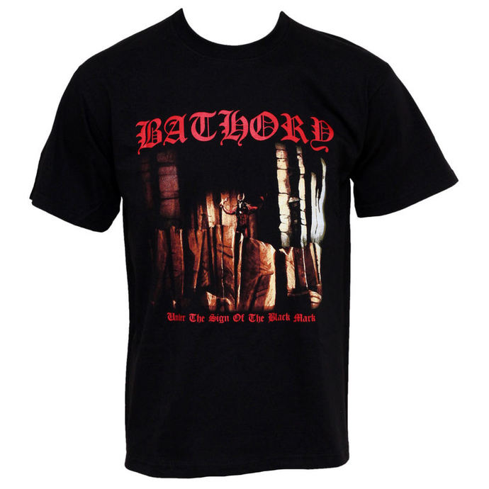Herren T-Shirt Bathory - Under The Sign