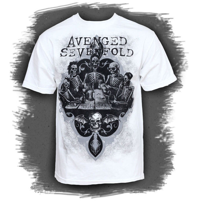 Herren T-Shirt Avenged Sevenfold - Bottoms Up - BRAVADO USA
