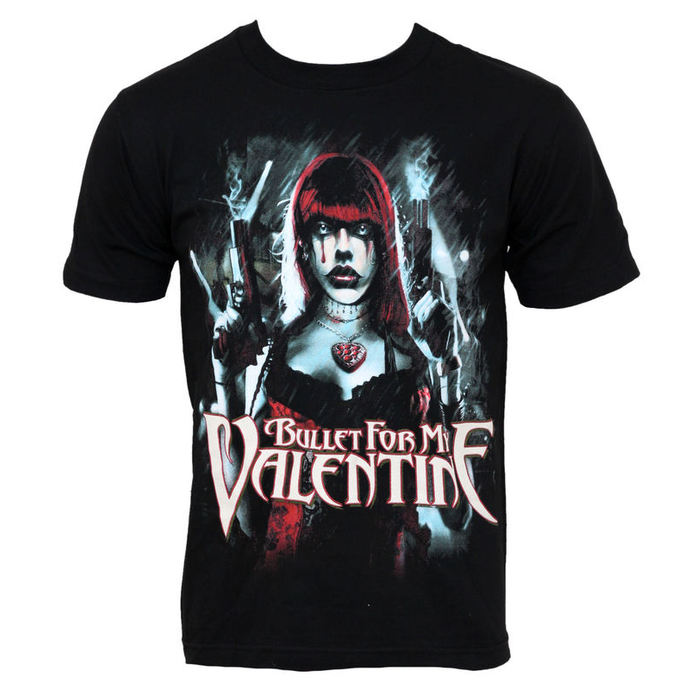 Herren T-Shirt Bullet For My Valentine - Gun Women