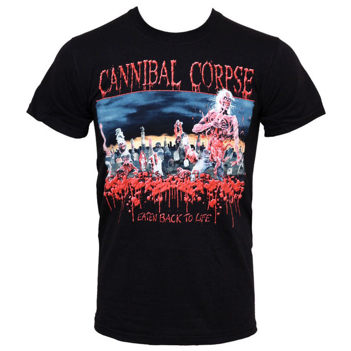 Herren T-Shirt Cannibal Corpse  - Eaten Back To Life - PLASTIC HEAD