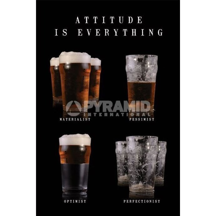 Poster Attitude Is Everything - Pyramid Posters