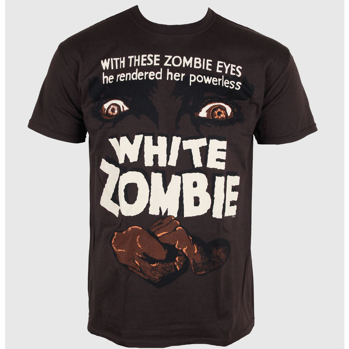 Herren T-Shirt Horror - White Zombie - PLASTIC HEAD