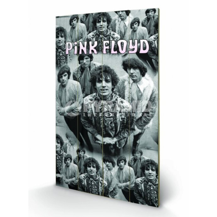 Holzbild Pink Floyd - Piper - Pyramid Posters
