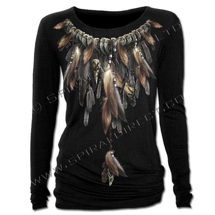Longshirt Damen SPIRAL - Native Spirit