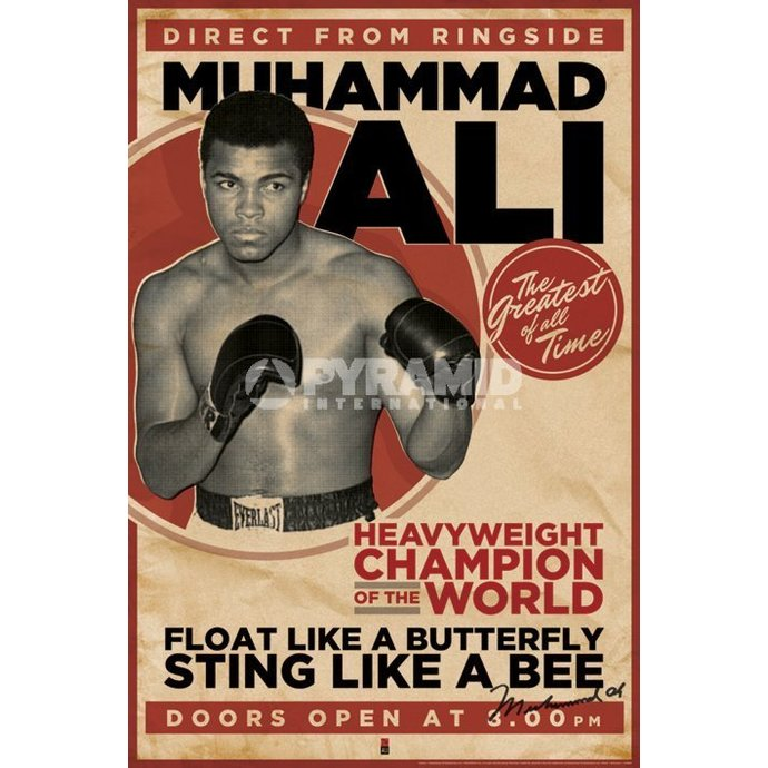 Poster Muhammad Ali - Vintage - Corbis - PYRAMID POSTERS