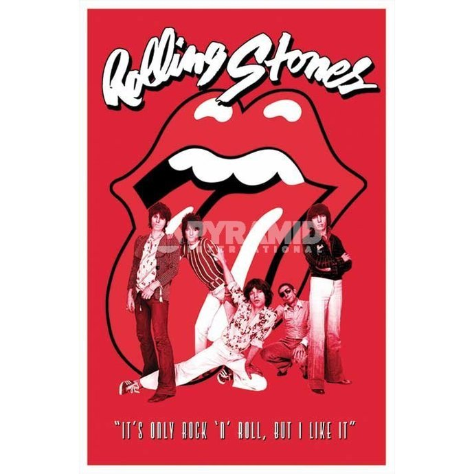 Poster Rolling Stones - It´s Only Rock N Roll - PYRAMID POSTERS