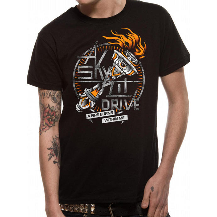 Herren T-Shirt   A Skylit Drive - A Fire Burns Within Me - LIVE NATION