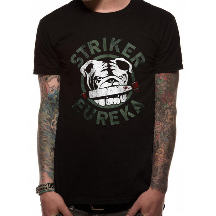 Herren T-Shirt   Pacific Rim - Striker Eureka - Black