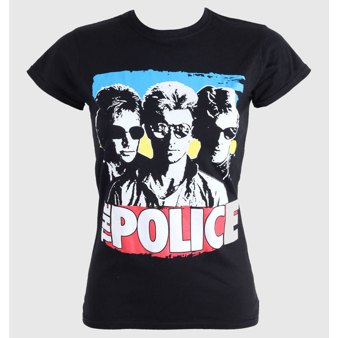 Damen T-Shirt  The Police - Greatest - PLASTIC HEAD