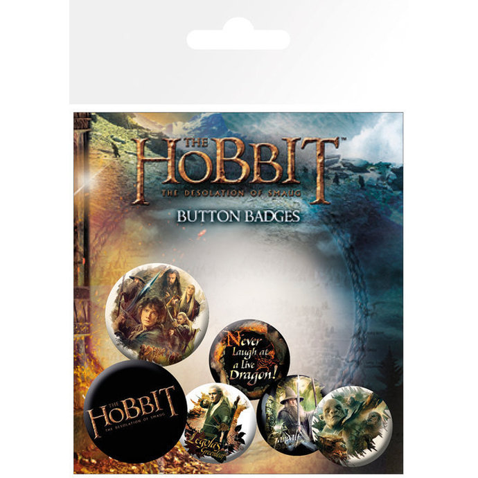Button  The Hobbit - Desolation of Smaug