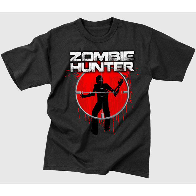 Herren T-Shirt   ROTHCO - ZOMBIE HUNTER - BLACK