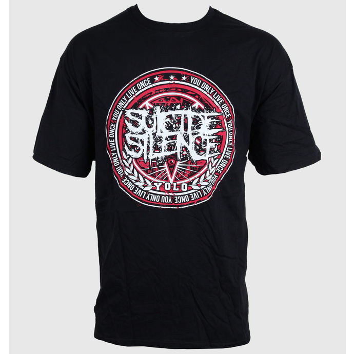 Herren T-Shirt   SUICIDE SILENCE - YOLO - BLACK - LIVE NATION