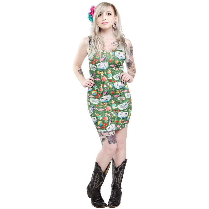 Damen Kleid  SOURPUSS - Trailer Part - Multi Colors