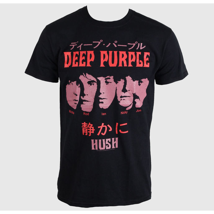 Herren T-Shirt   Deep Purple - Hush Japan - PLASTIC HEAD