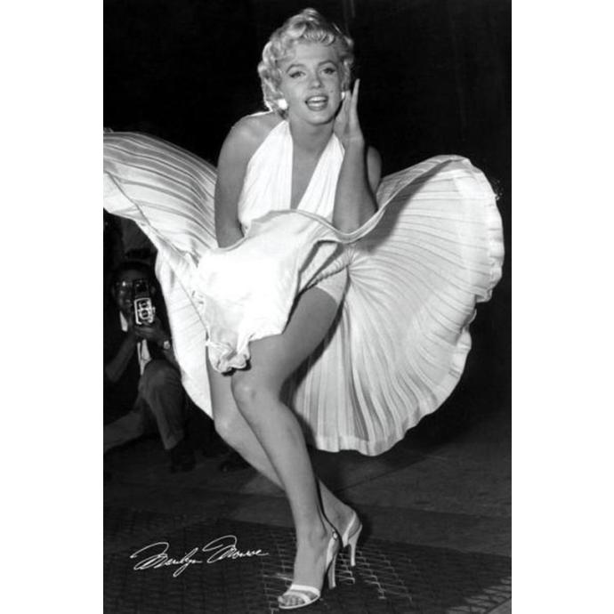 Poster Marilyn Monroe - Seven Year Itch - PYRAMID POSTERS