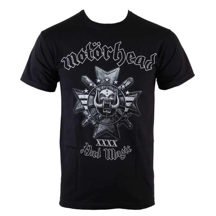 Herren T-Shirt  Motörhead - Bad Magic - Blk - ROCK OFF