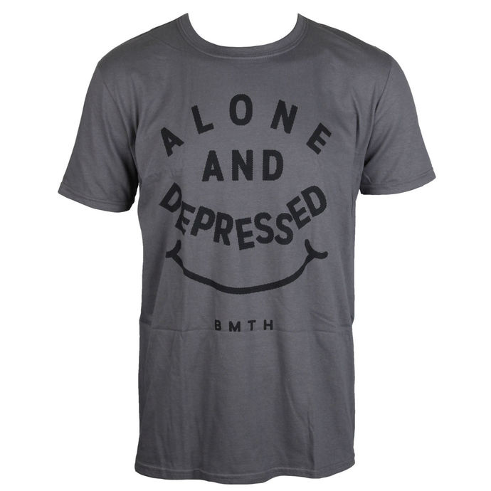 Herren T-Shirt Bring Me The Horizon - Alone And Depressed - ROCK OFF